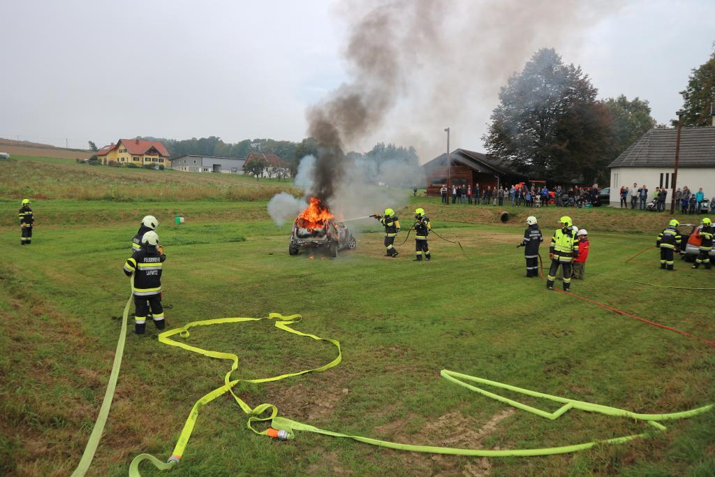 Schauübung in Wagendorf am 07.10.2018