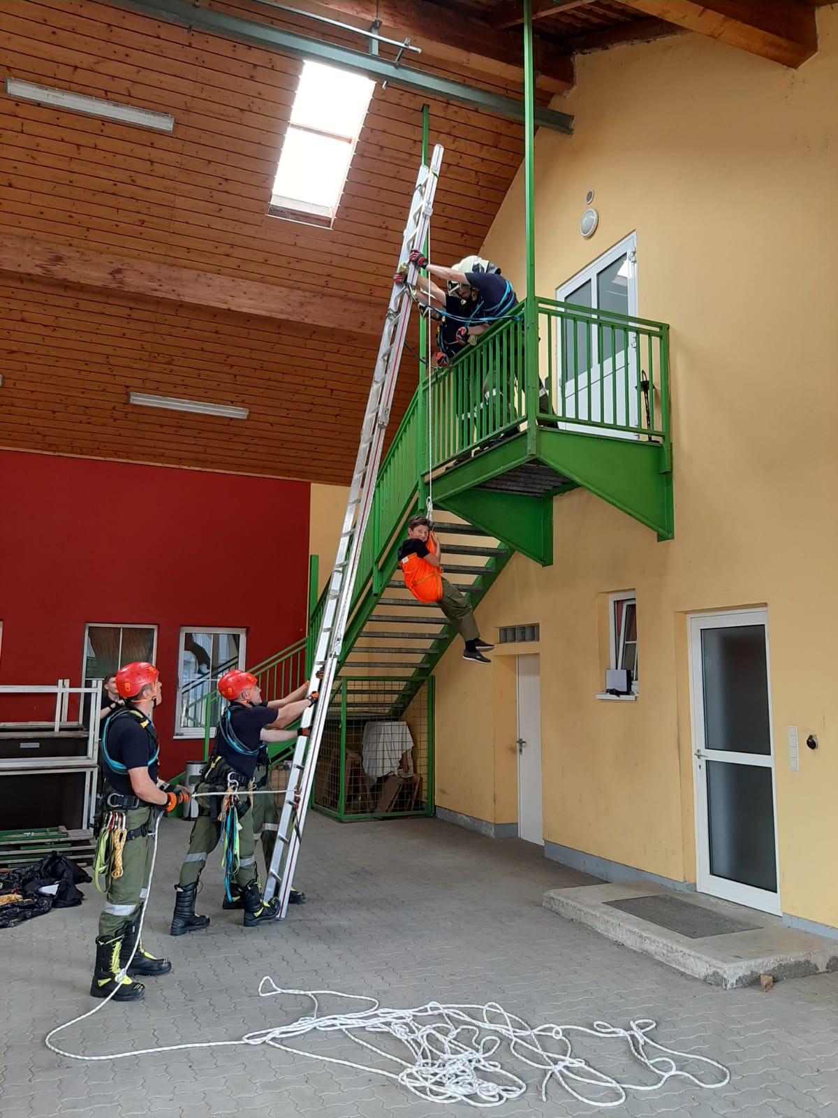 MRAS-Abschnittsübung in Lafnitz