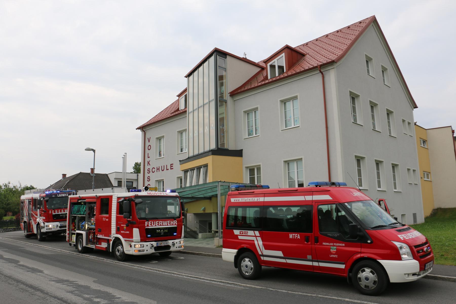 Feuerwehrwoche in der VS Lafnitz