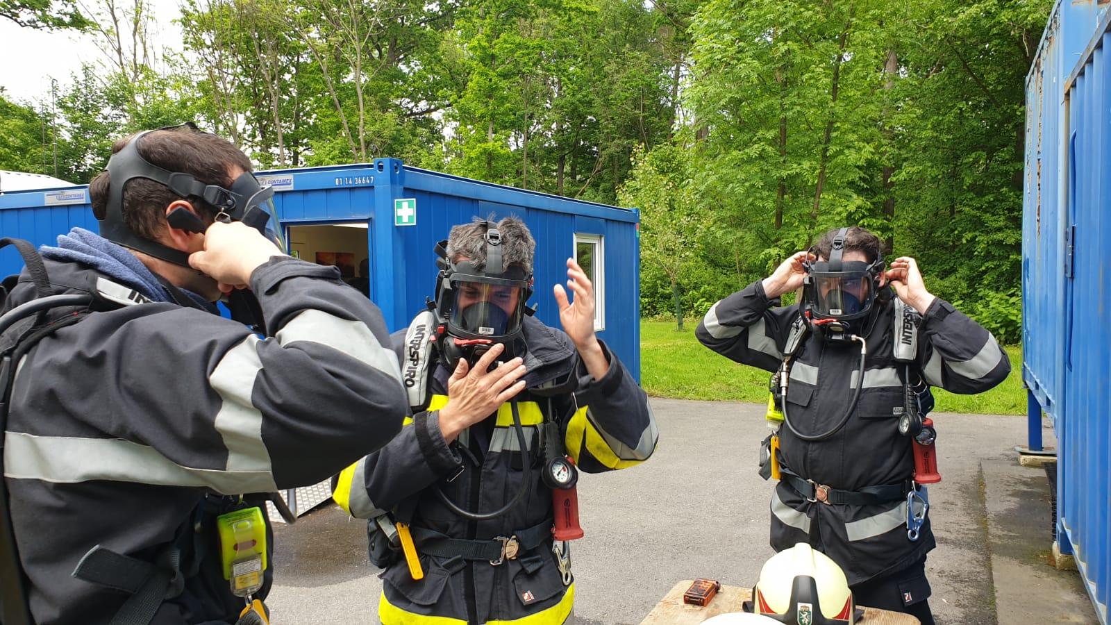 Heißausbildung an der Feuerwehrschule Lebring