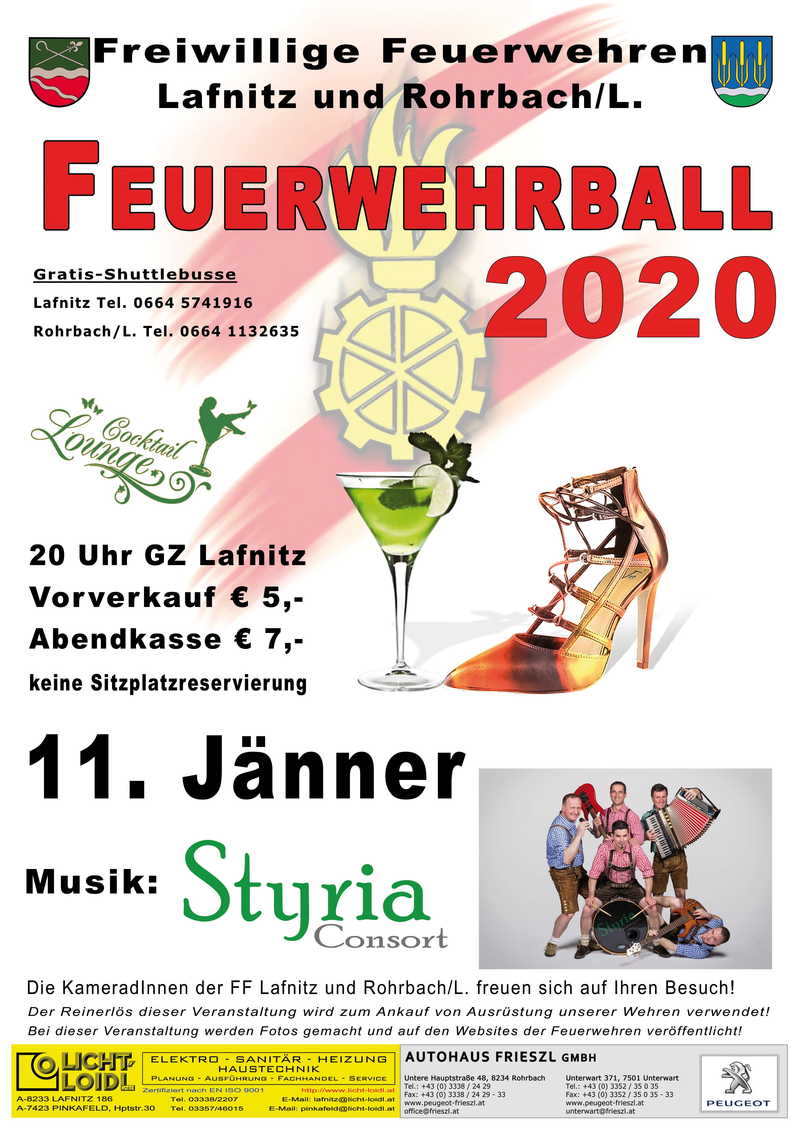 Feuerwehrball 11.01.2020