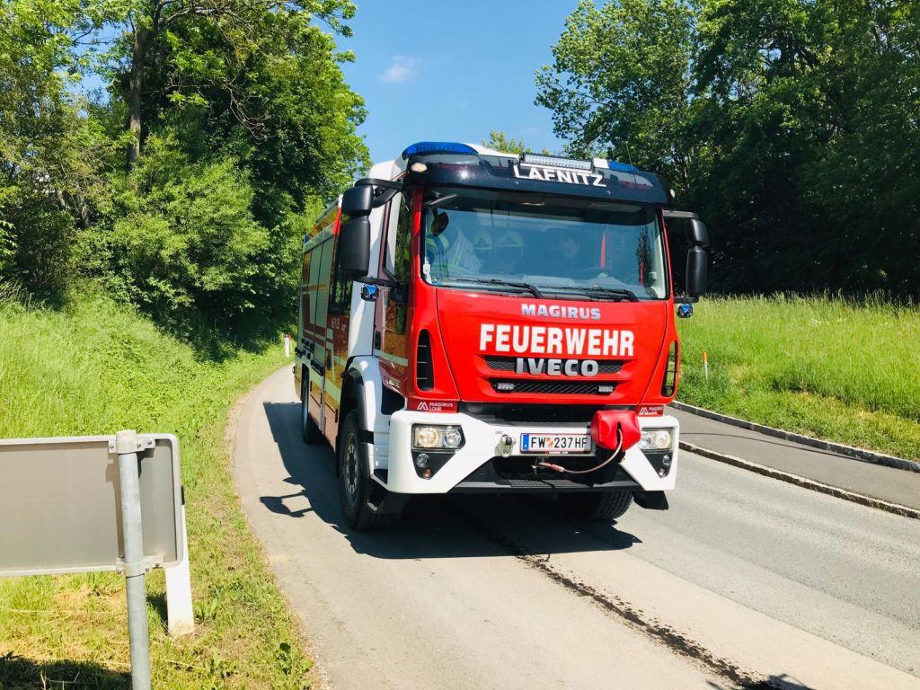 Einsatz Ölspur Wagendorf 18. Mai 2020