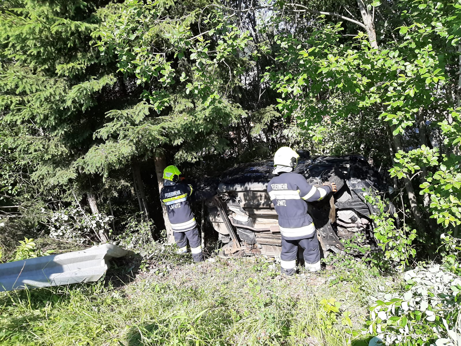 Verkehrsunfall B54 13.06.2020